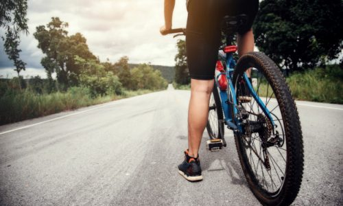 Cycling exercises at low speeds