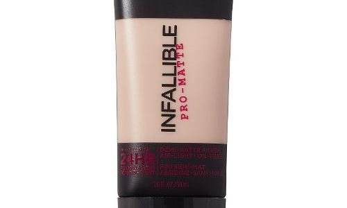 L'Oréal Infallible Matte Foundation: A Must Buy For All Occasions