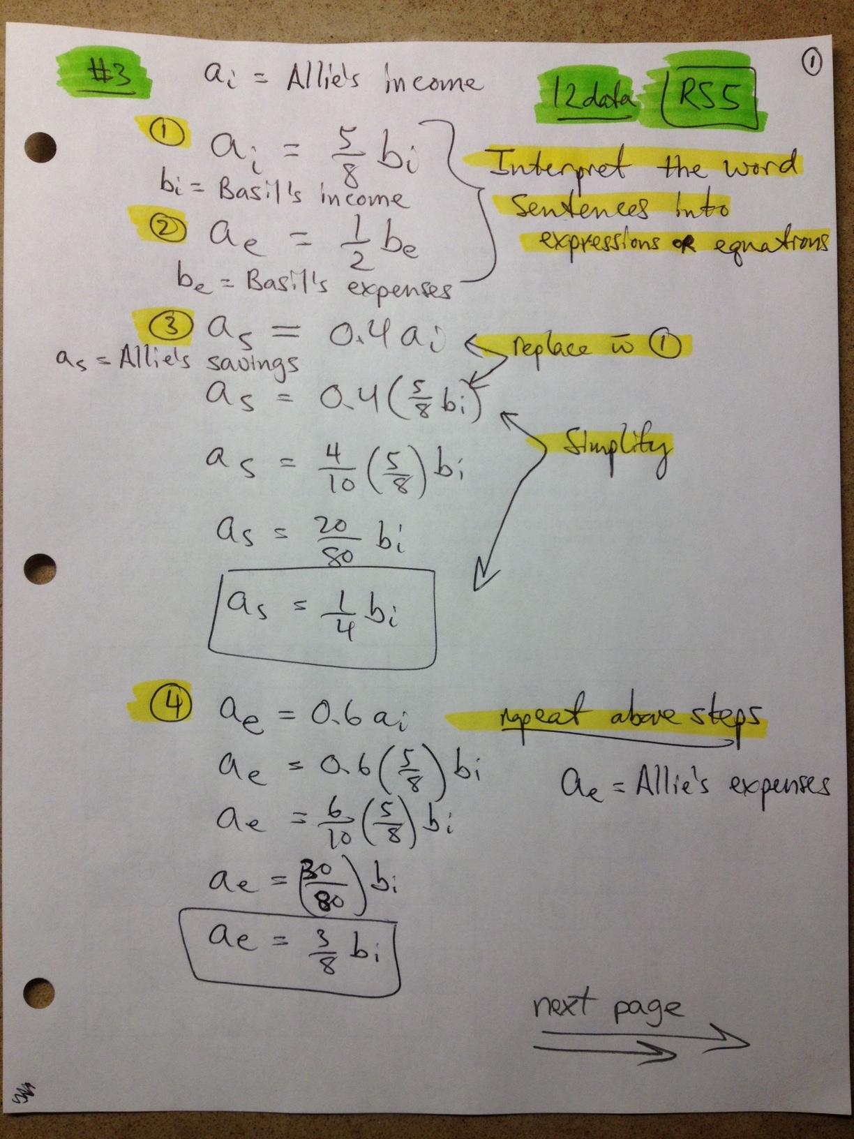 Maths Sums Grade 12
