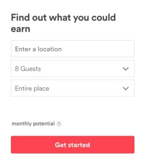 Holiday Let Income Calculator