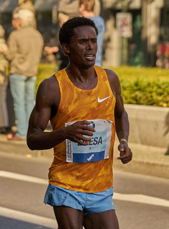 photo of Feyisa Lilesa