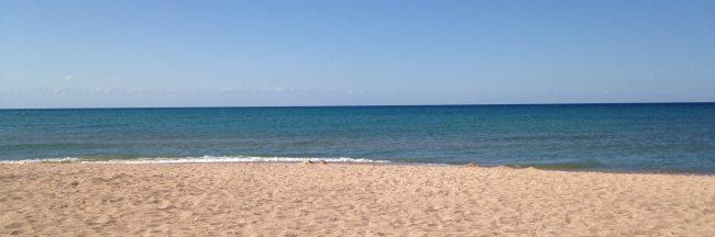 picture of a calm beach
