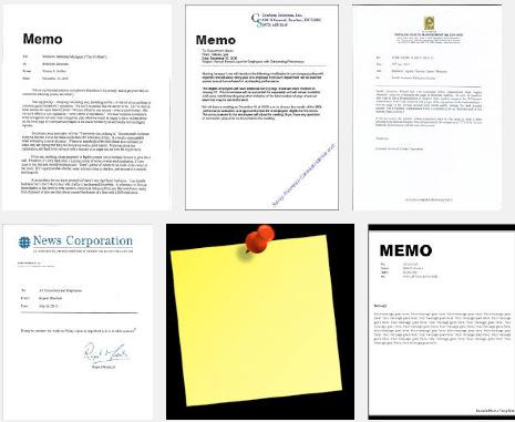 Download Contoh Memo Resmi Pribadi Terlengkap