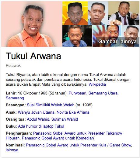 Tukul Arwana artis terkaya diindonesia