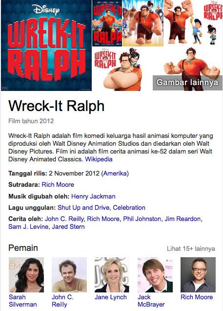 Wreck It Ralph 2012