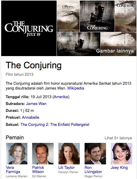 Film horor amerika terseram tahun lalu