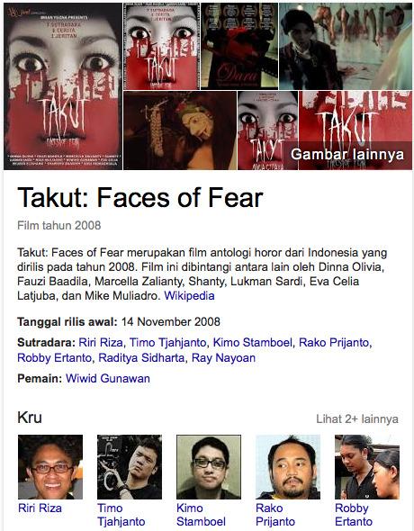 Takut: Faces Of Fear Film hantu indonesia terseram