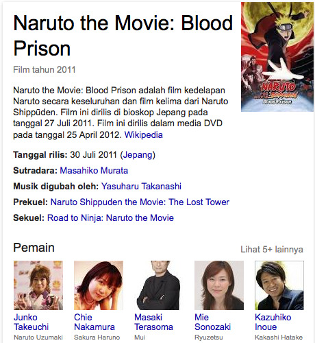 Naruto the Movie Blood Prison