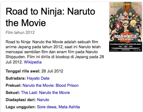 Road to Ninja Naruto the Movie