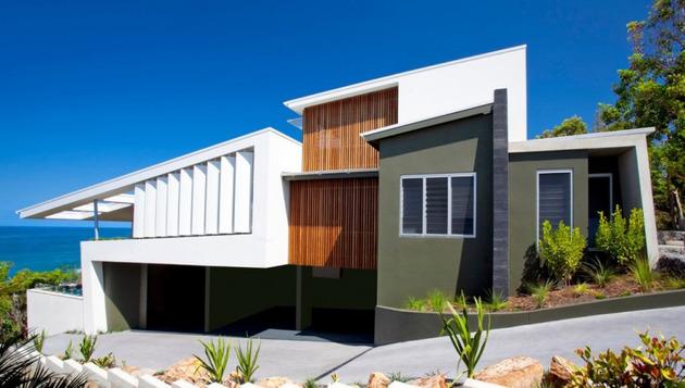 Foto Desain Rumah Minimalis yang Unik Bergaya Pantai