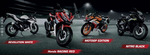 4 Varian dan Warna All New CBR150R