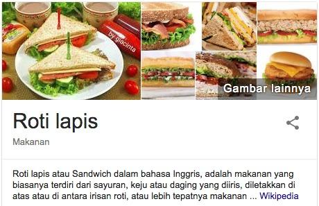 cara dan bahan-bahan membuat sandwich
