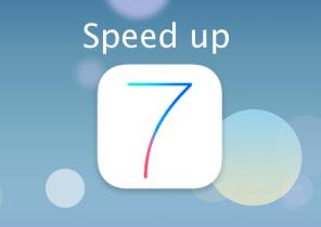 Speed up older device running IOS7