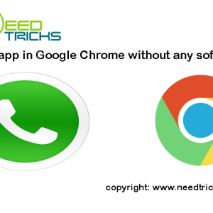 Whatsapp in Google Chrome without any software