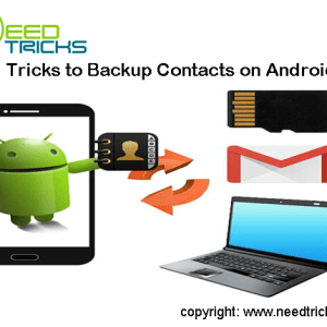 Backup Contacts on Android