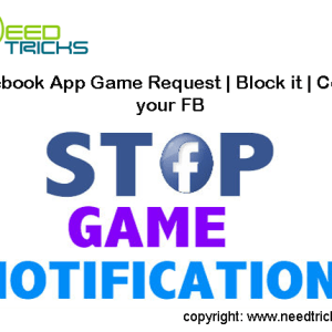 Facebook App Game Request | Block it | Control your FB