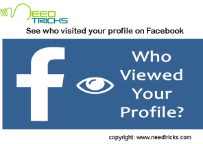 See who visited your profile on Facebook