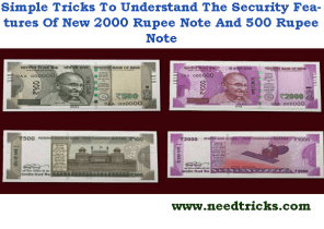 fake and new notes