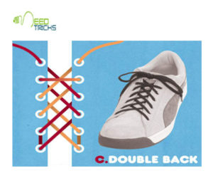 C.Double Back Shoe-laces