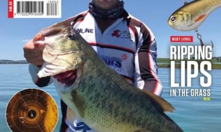 BASS ANGLER COVER PAGE! 11,11LBS!