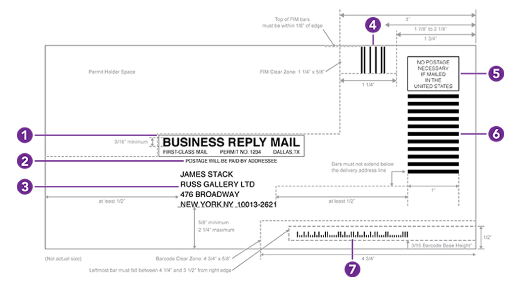 Business Reply Mail Guidelines Paper 101 Neenah Paper