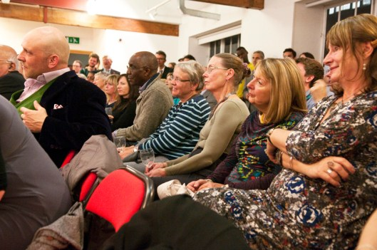 Audience during the reading of 'From the Archive'