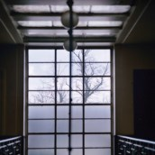 Assembly Hall Staircase (Window)