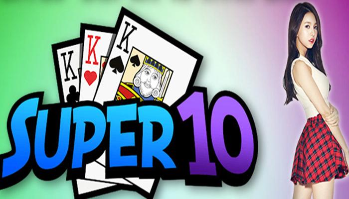 Peraturan Pada Permainan Super 10 Online