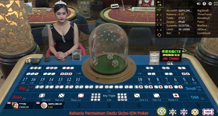 Cara Prediksi Judi Dadu Sicbo Yang Akan Keluar Di OSG Casino