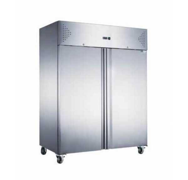afi armoire refrigeree positive double porte gn2 1 1300 l aaf14p