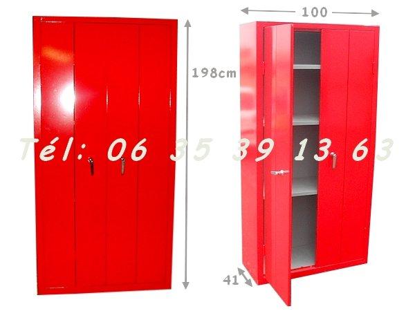 Armoire Metallique Rouge Pas Cher Trendy Cuisine Armoire