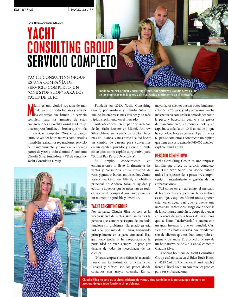 YACHT CONSULTING GROUP