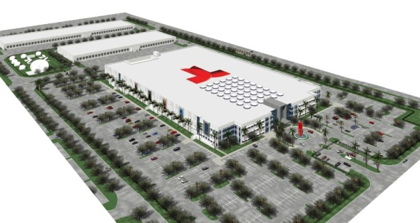 NBCUniversal Telemundo Enterprises Headquarters - Aerial View (PRNewsFoto/NBCUniversal Telemundo Enterpri)