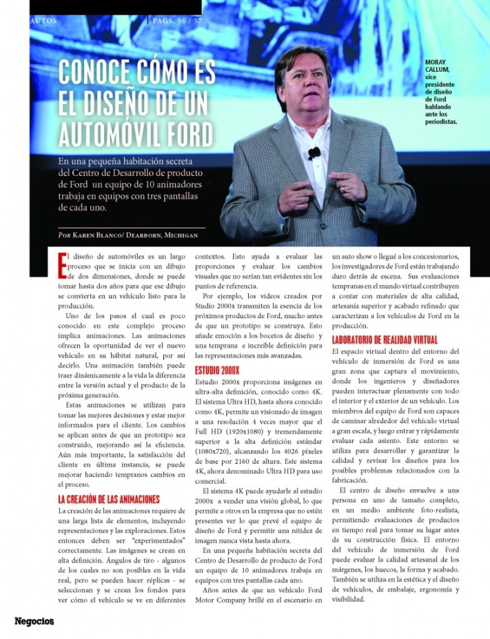 Negocios magazine ford