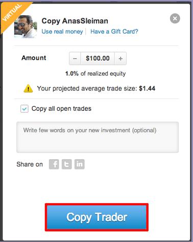 Como Eu Iniciei o Negócio de Copia de Traders eToro