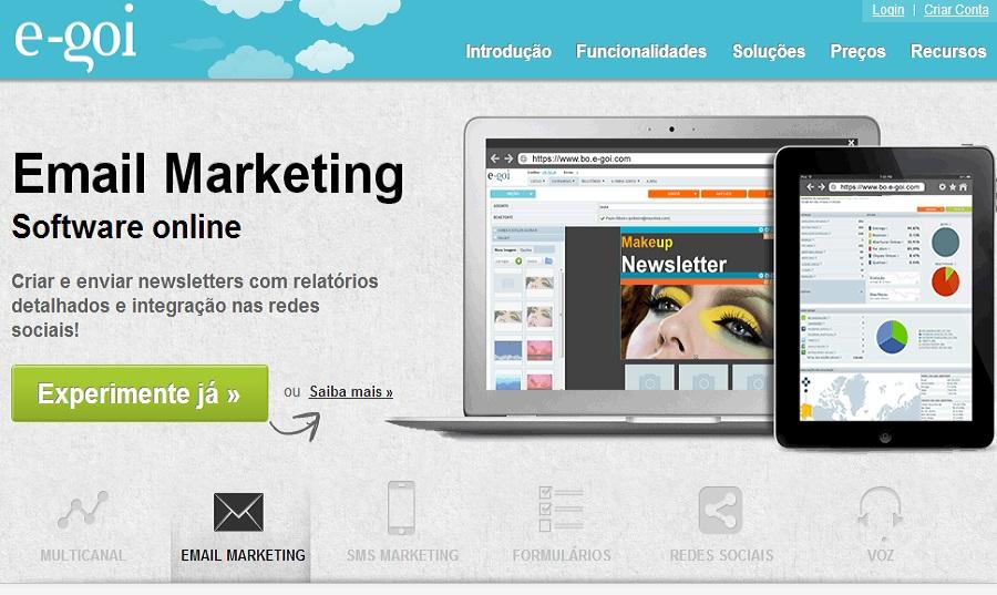 Quero usar o E-goi em vez de outro serviço de email marketing