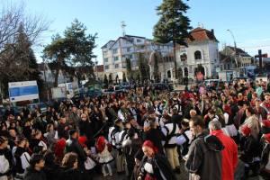 Festivalul de Datinci si Obiceiuri de iarna din negresti oas