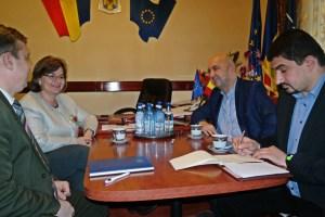 Intalnire Prefect Radu Bud - Aurelia Fedorca