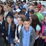 Prima zi de scoala la Liceul Ionita G. Andron Negresti Oas Negresti Oas - 2017