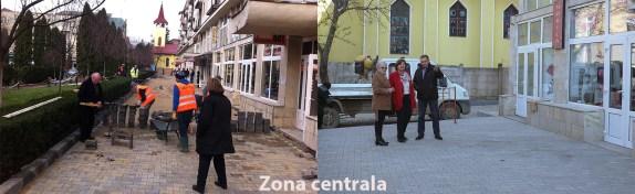 modernizare zona centrala