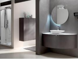 meuble de salle de bain d angle haut de