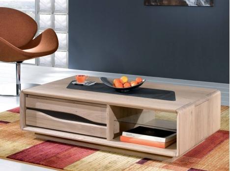 table basse carree contemporaine bois