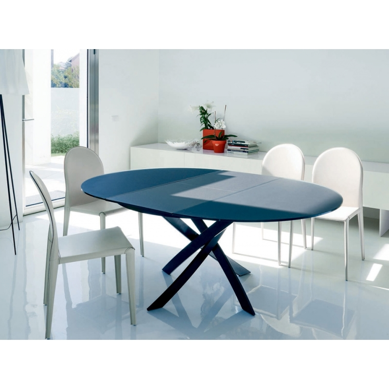 table design bontempi ronde modele