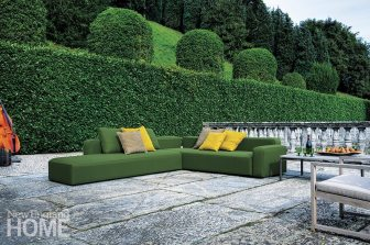 The Dandy outdoor sofa, from Roda.