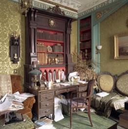 "Dr. Ralph Horne's House, Boston: Ralph's Desk (2007), 30"" x 30"""