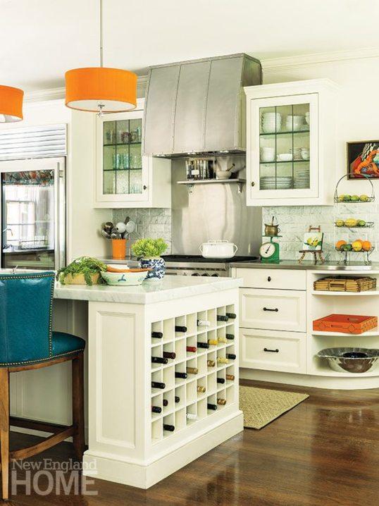 Katie Rosenfeld kitchen island