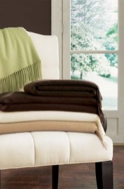 """Dorsey Throw by Sferra """"These cashmere throws are so soft and decadent! The herringbone texture and fantastic colors are a wonderful accent to any room. They also make a fabulous gift, even to yourself."""" THE LINEN PRESS, OLD GREENWICH, (203) 637-0200"""