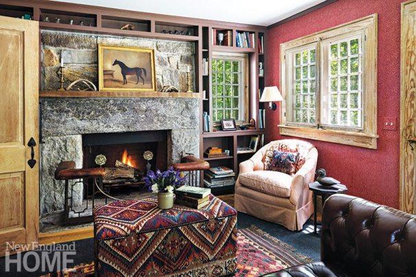 Robinson camp style cabin interior