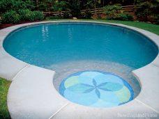 Ted Acworth lotus pool