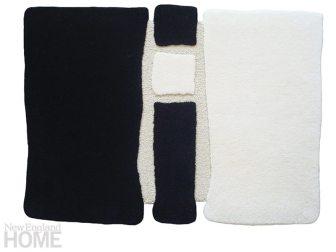 Balanced Design New Zealand wool Big Block rug